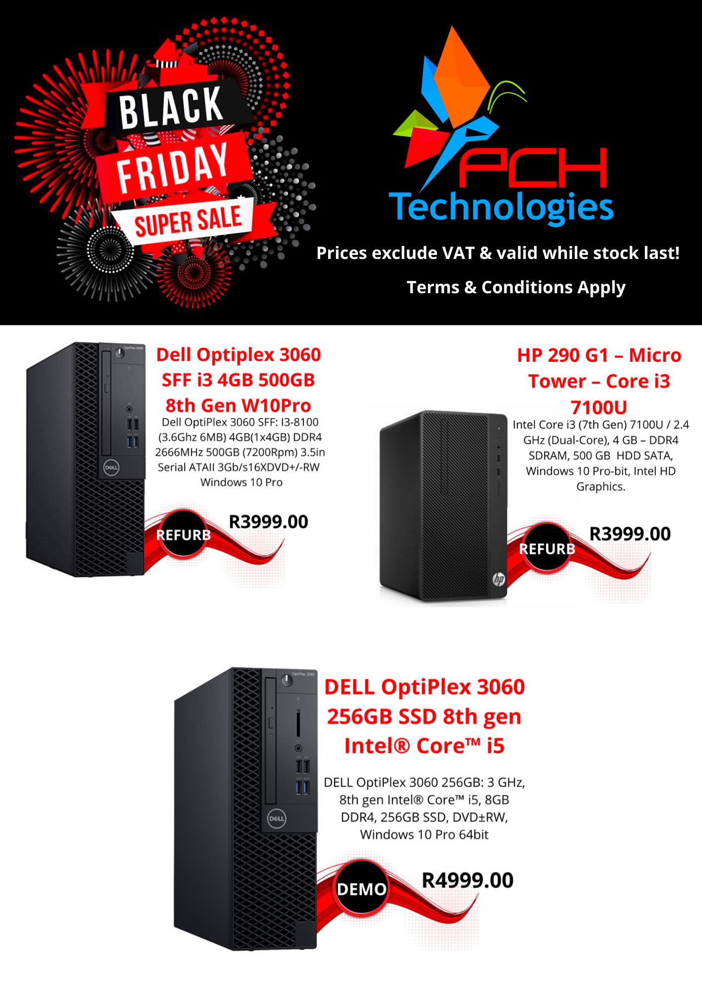 BLACK FRIDAY DESKTOP PC SALE!!