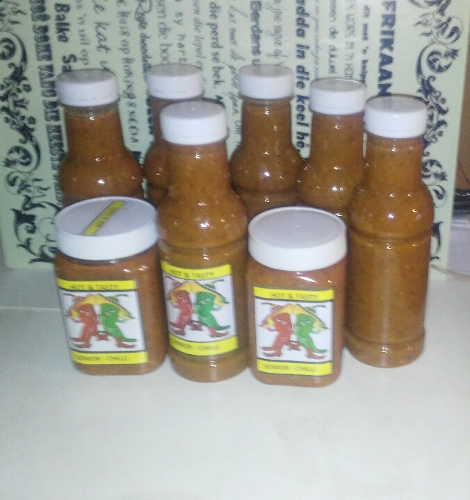 Chilli sources and products available