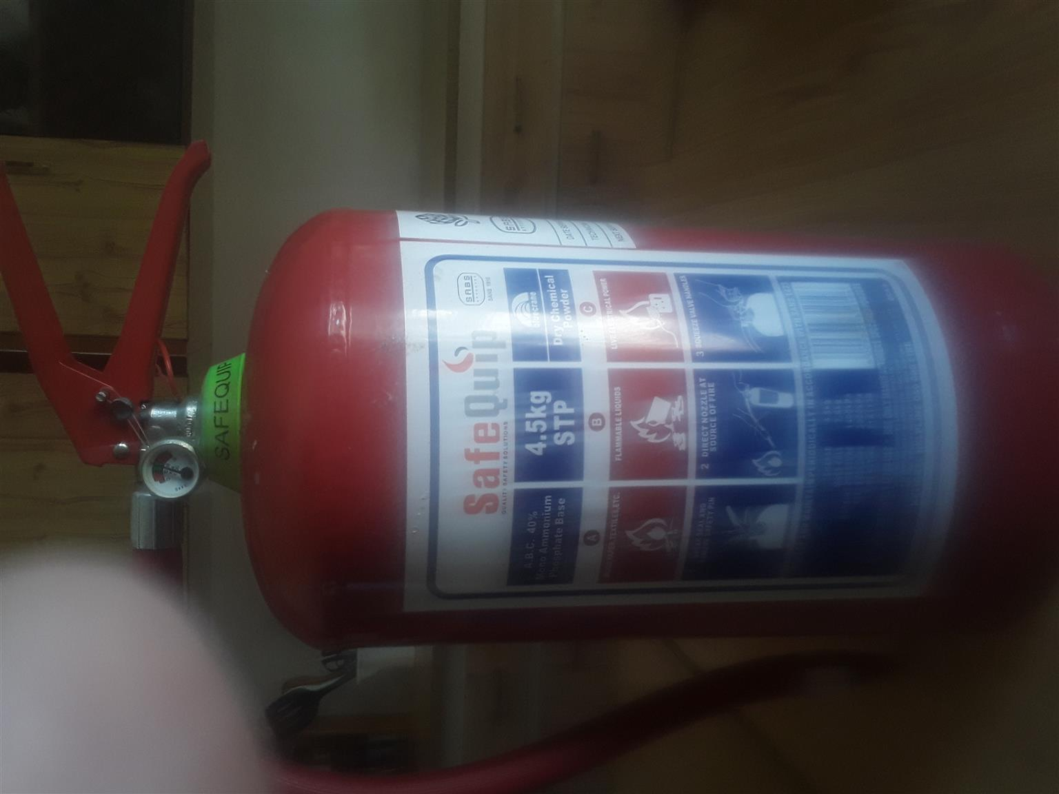 4.5kg STP DCP Fire Extinguisher