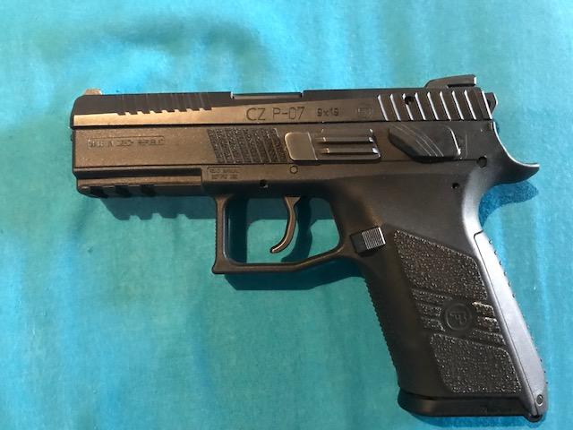 Hand Gun For Sale CZP07