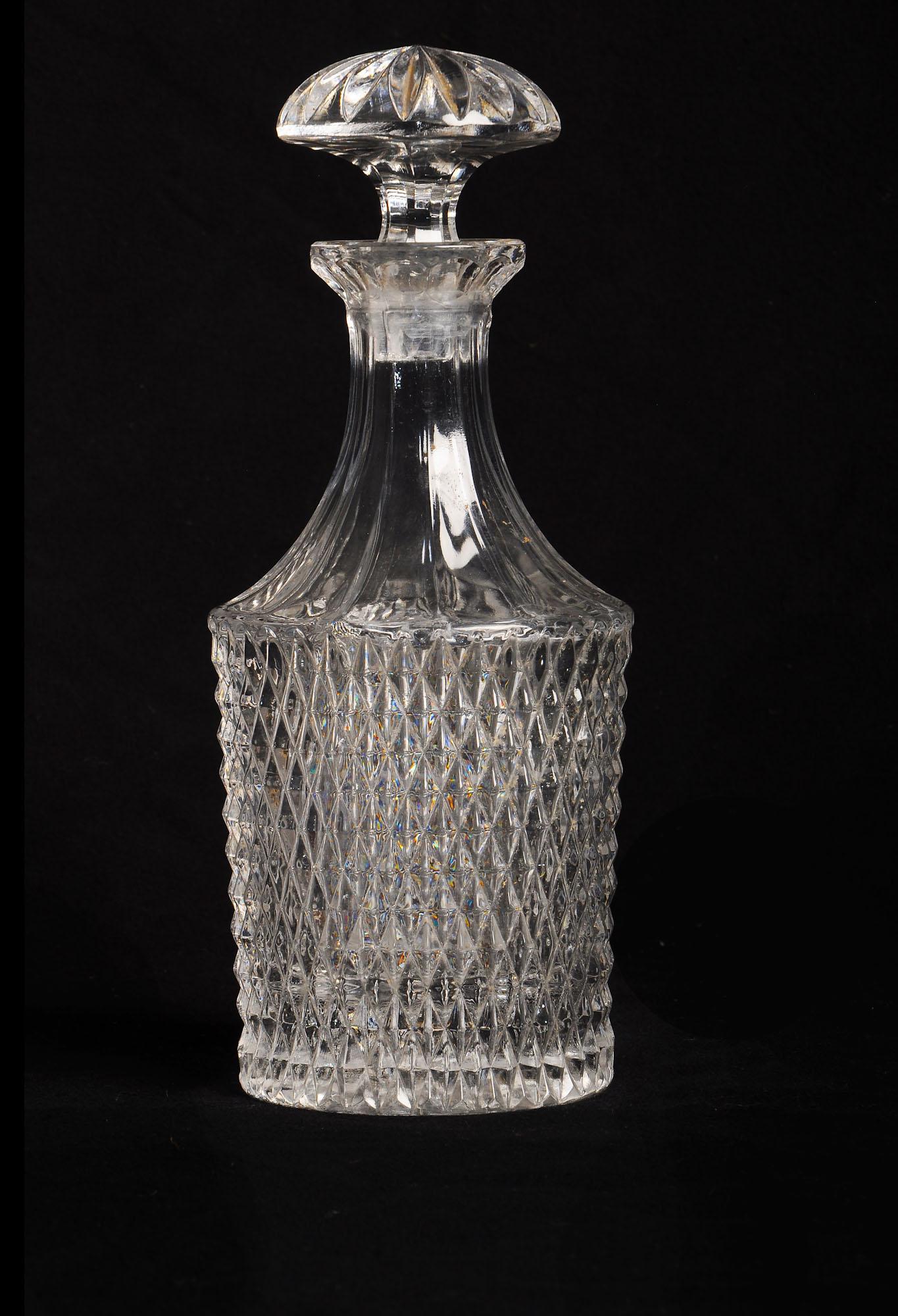 Cut Glass Decanter - SKU 1552