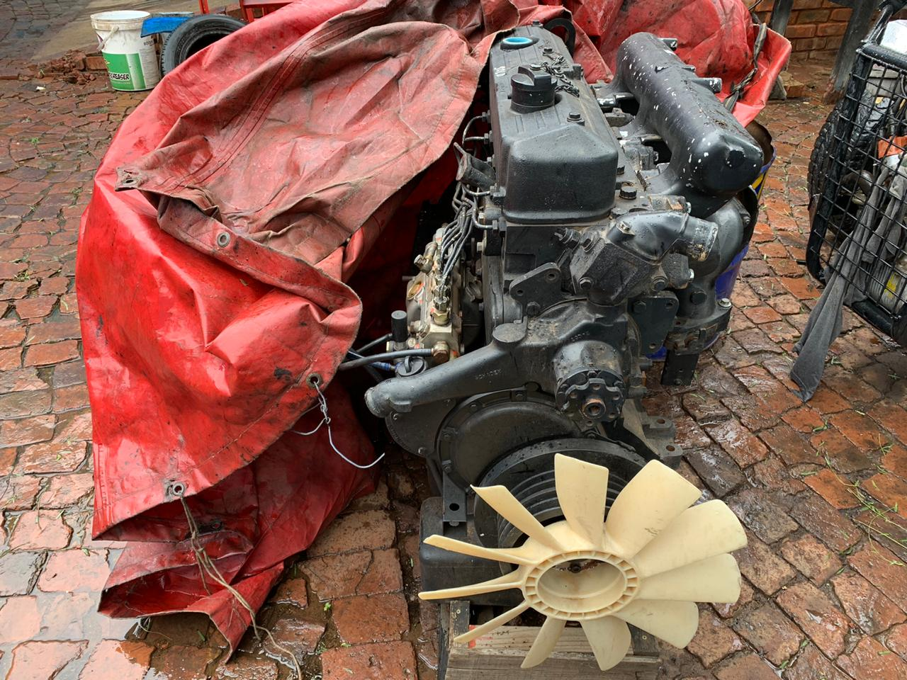 Selling ADE 366 turbo engine complete in good condition