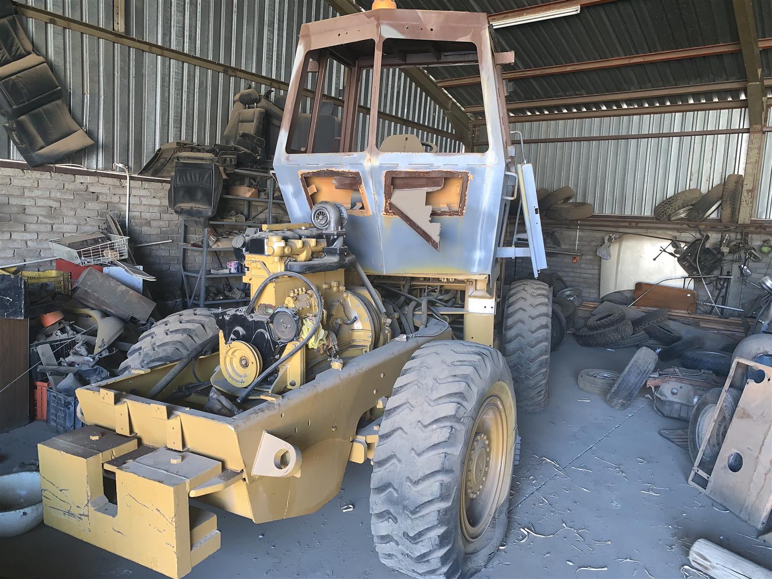 Case W14 Front loader