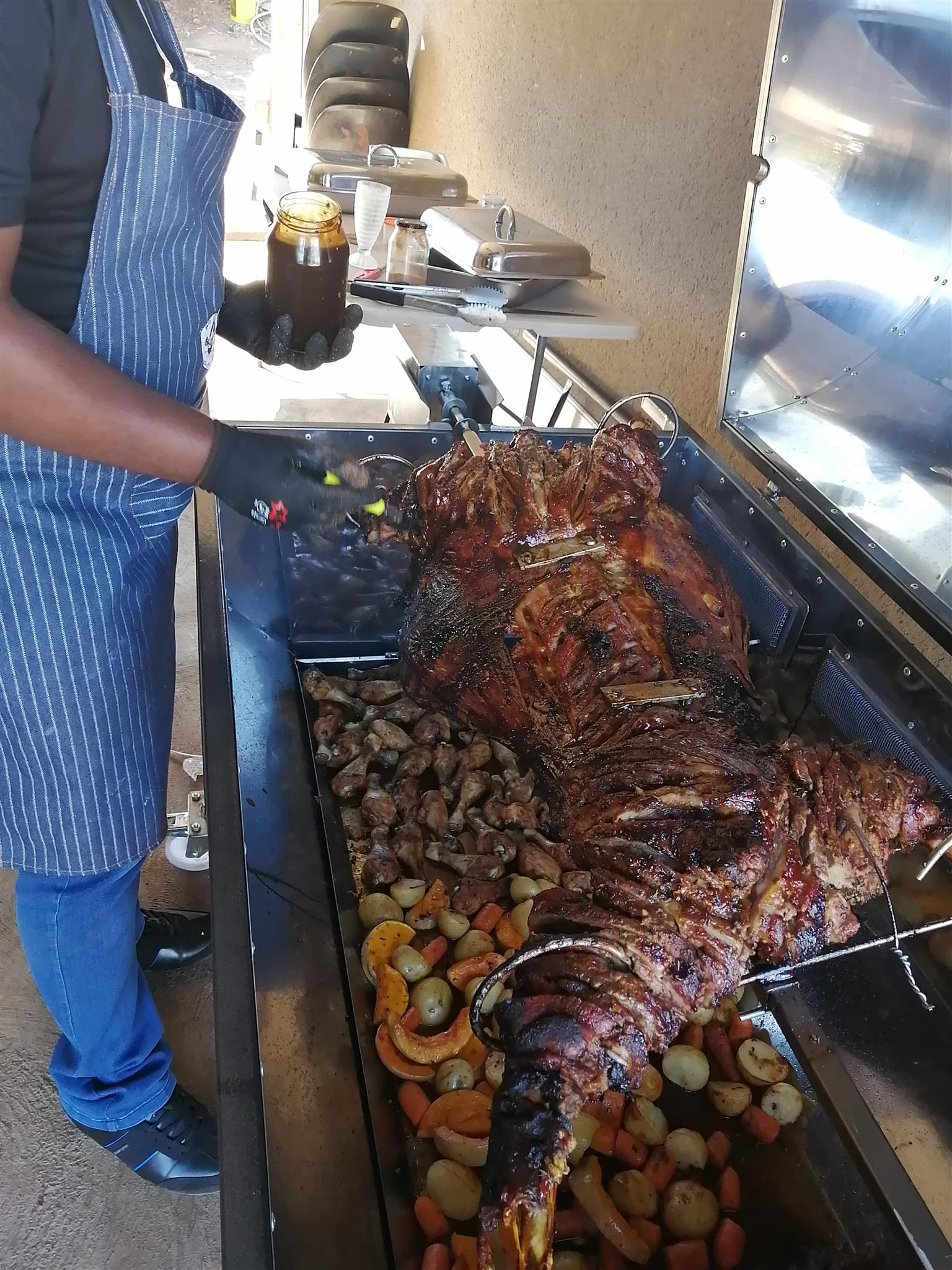 Ko Moraleng Spit Braai and Catering services