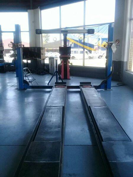 Wheel Alignment Machine >> Lawrence 3d Wheel Alignment Machine Plus Stenhoj 5oookg 4 Post Lift