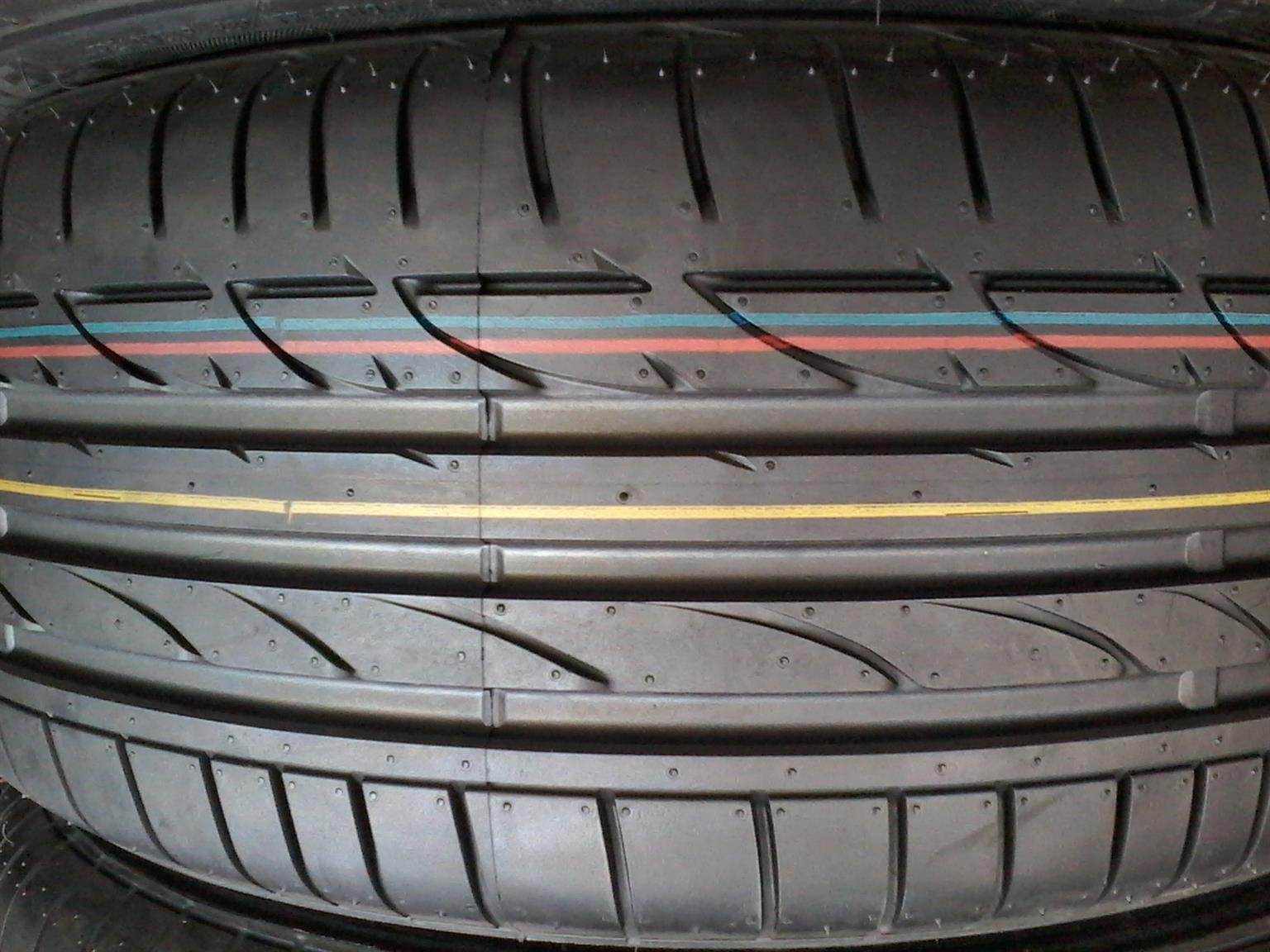 Tyres. 225.50.17 Bridgestone Runflat