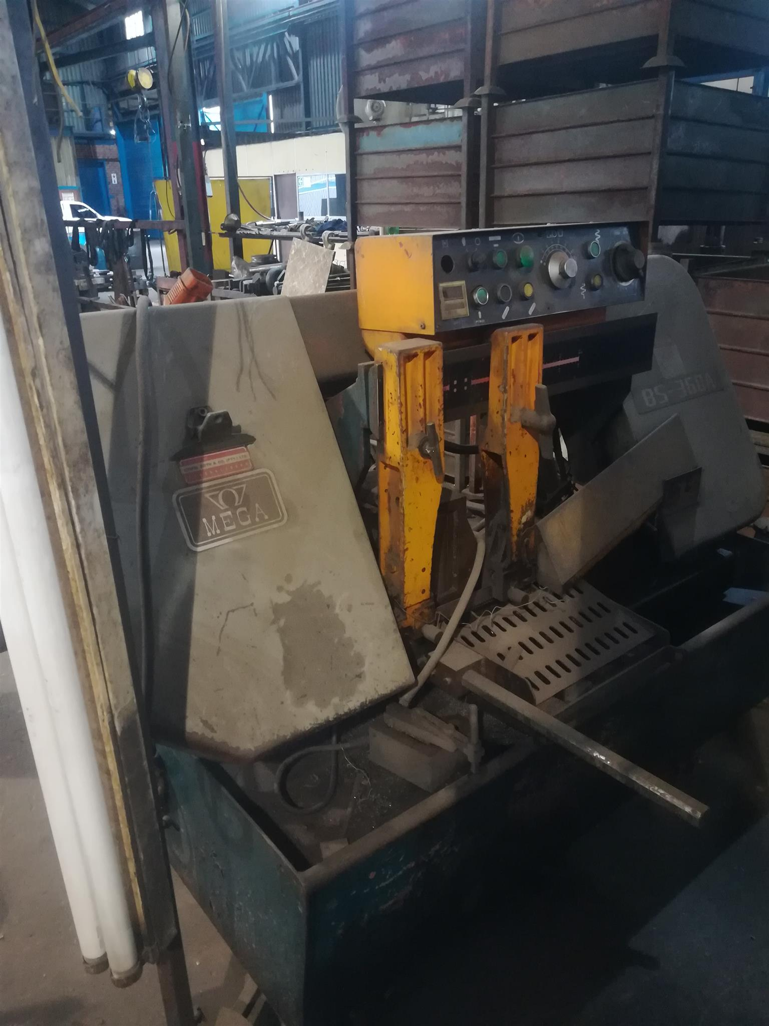 Mega BS 360A automatic horisontal bandsaw for sale