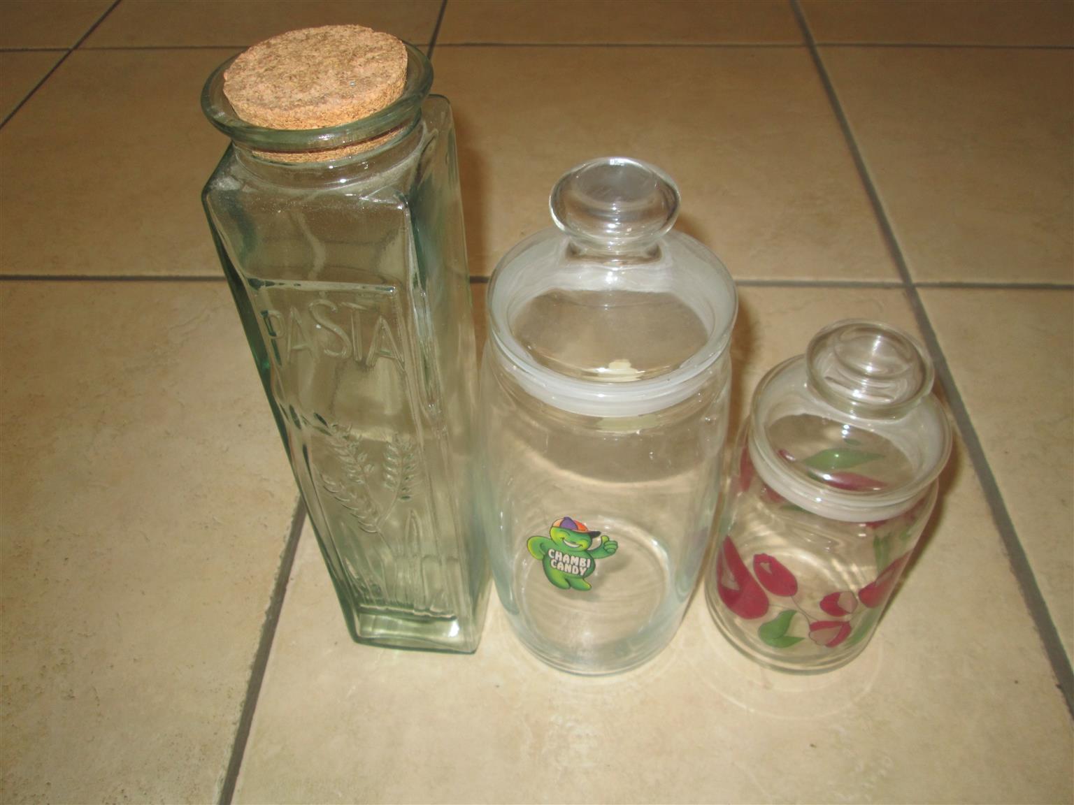 Spaghetti Storage Glass,Biscuit Jar and Sweet Jar
