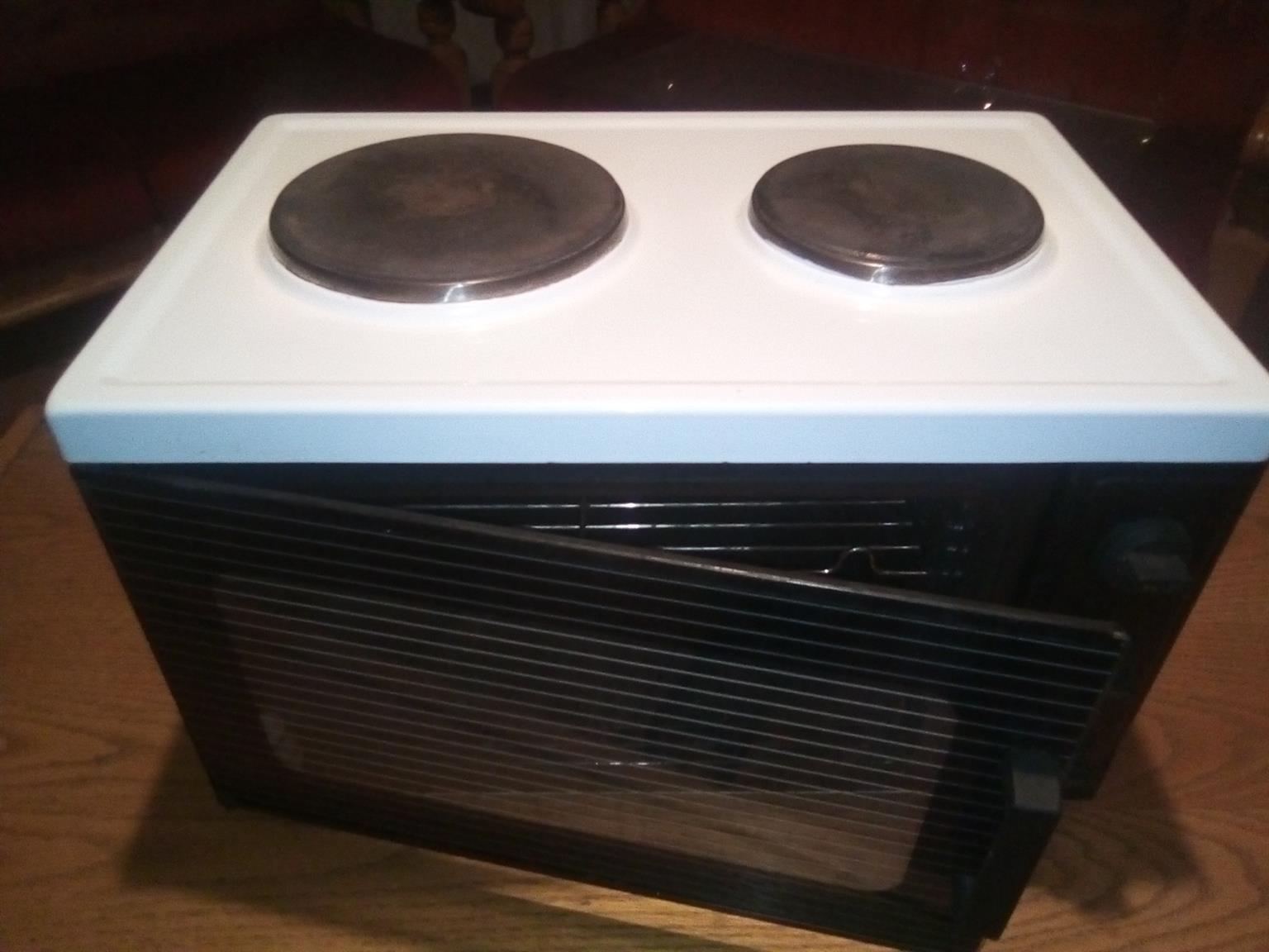 BARGAIN COMBO LG 9kg Top Loader Wshng Machine n' Mini 2plt Oven Stove