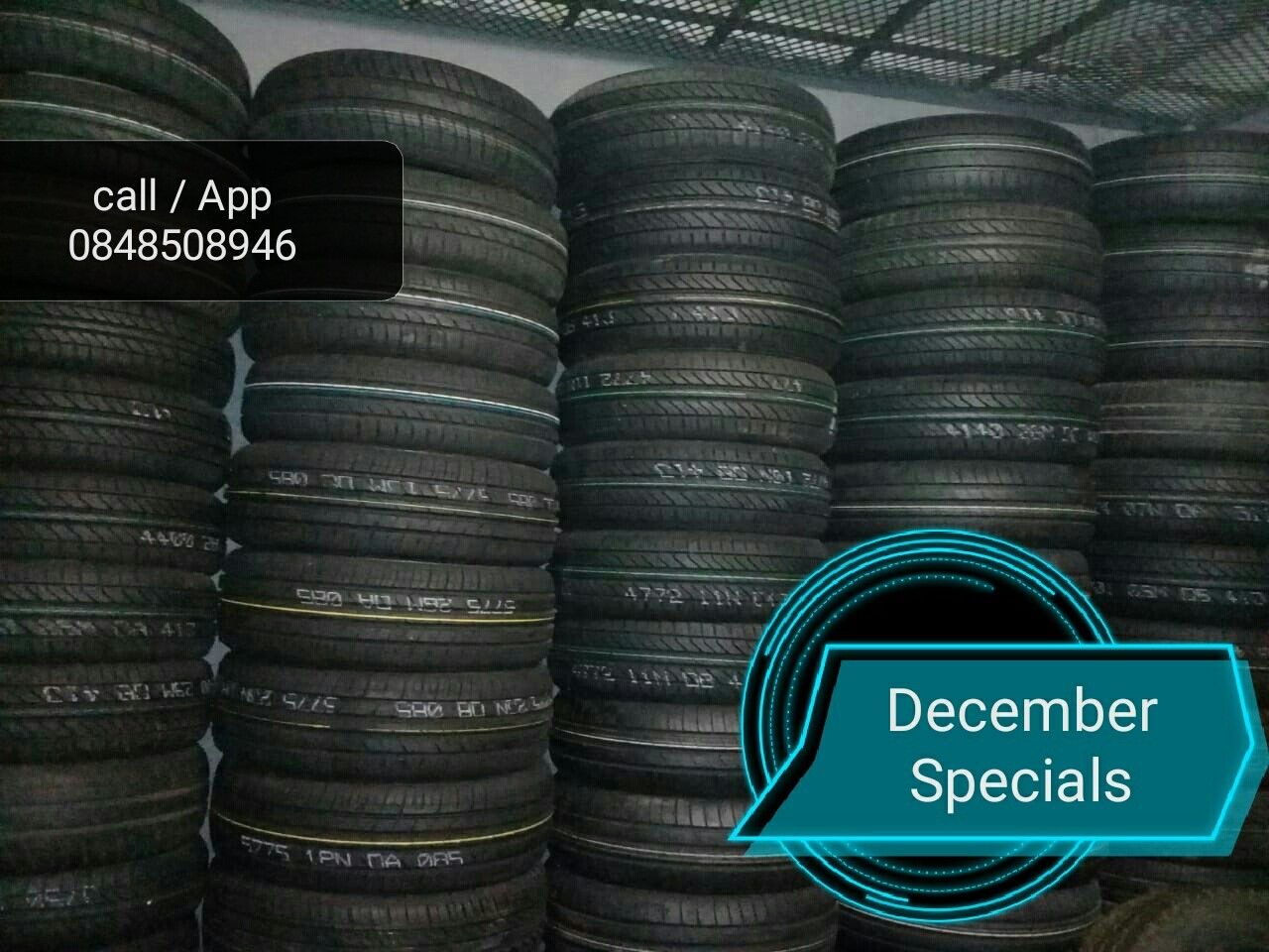 New and Secondhand Tyres at affordable prices