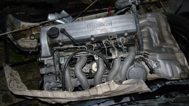 Complete Second hand used engines  MUSSO 2.9L TURBO, OM 602 TURBO