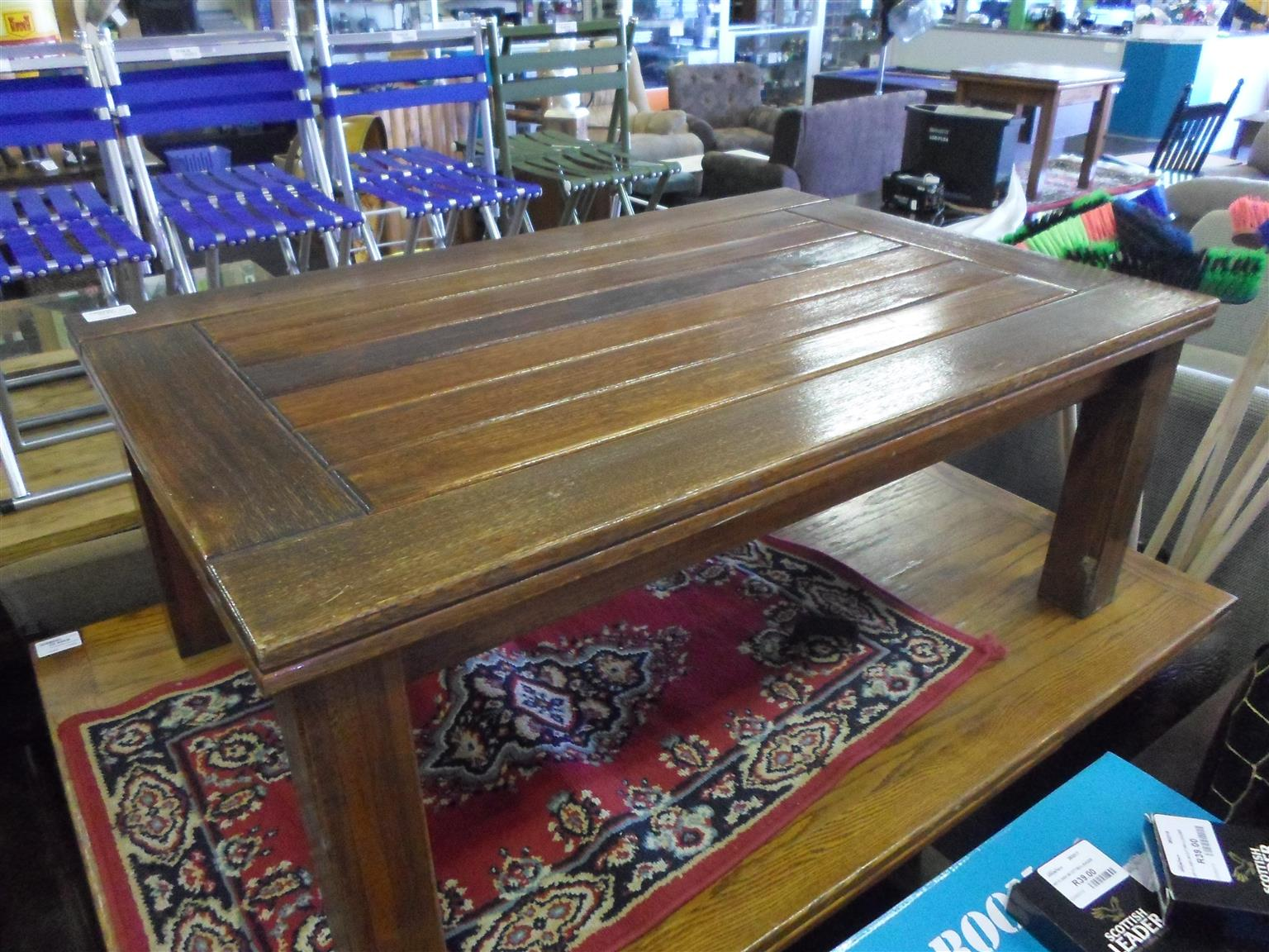 Wooden Coffee Table -  Brown
