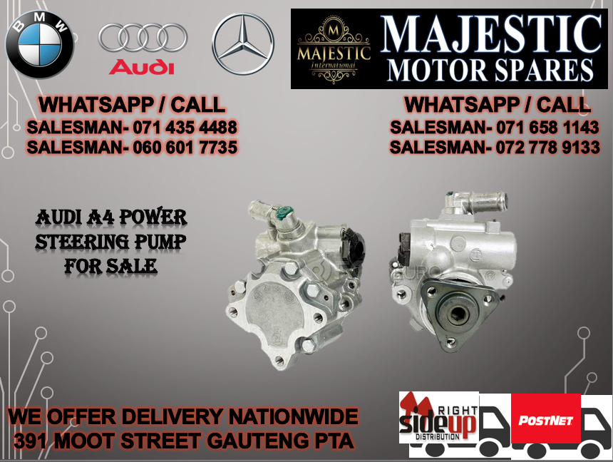 audi a4 power steering pump for sale