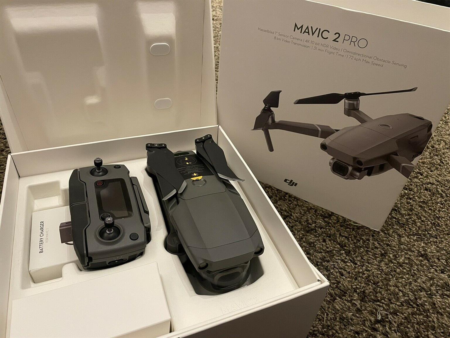 Dji Mavic Pro 2 Drone with 12 hours of flight time