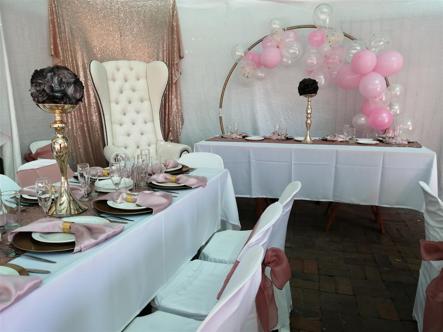 Plan your specific event with us