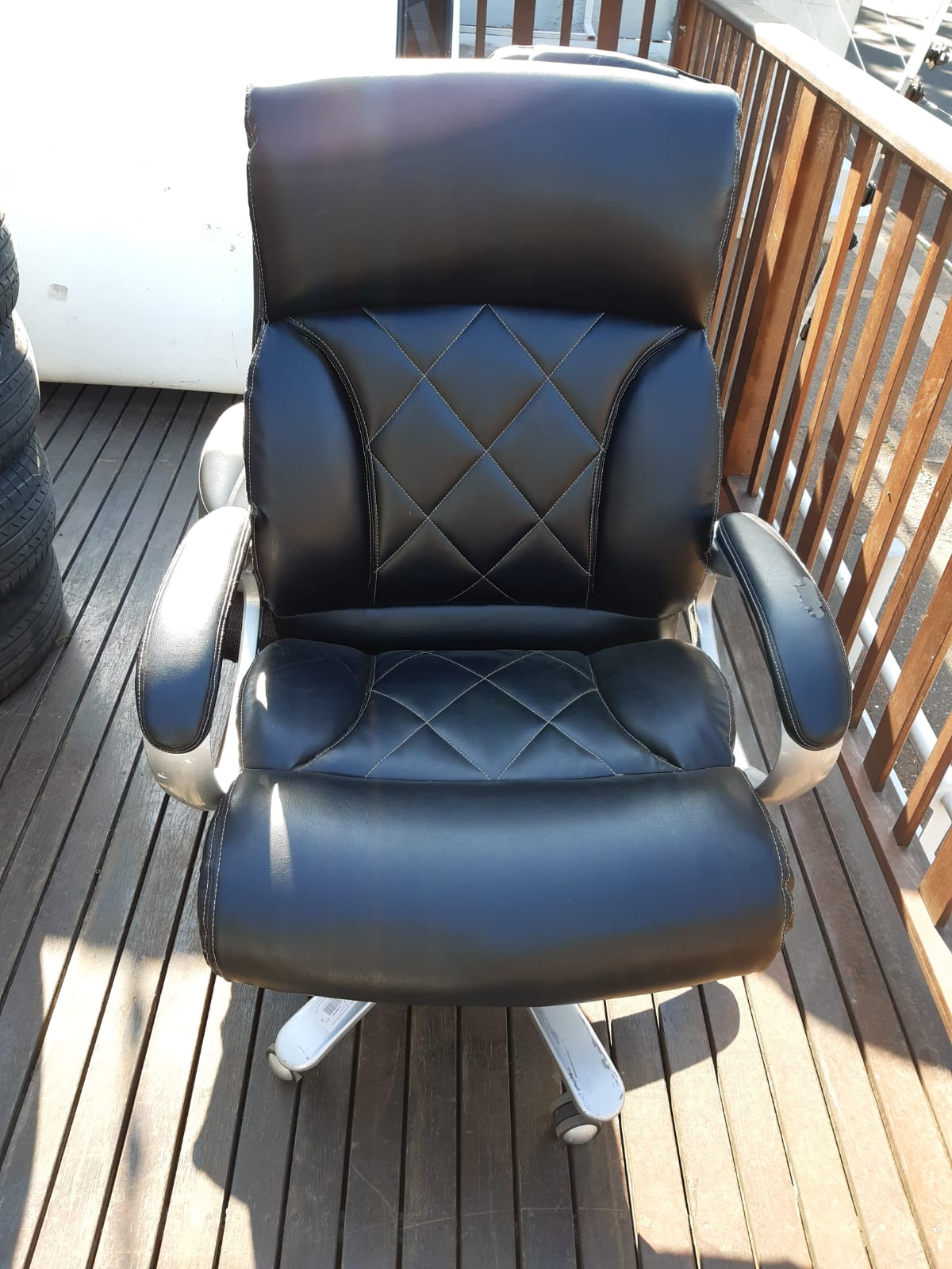 Black Diamond High Back Office Chairs