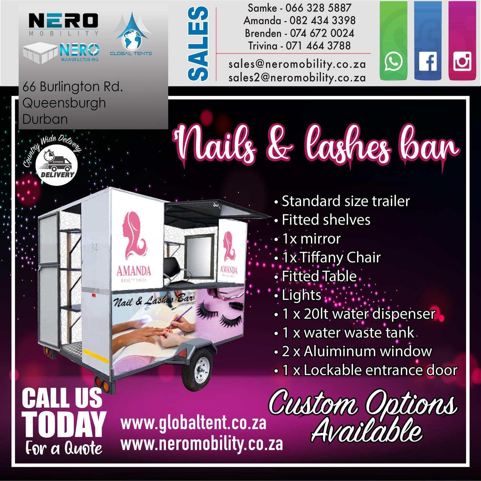Nails and Lashes bar