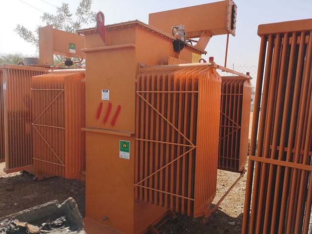 Preston Anderson 2 500 KVA, 11 000 v HV, 6 600 v LV Transformer- ON AUCTION