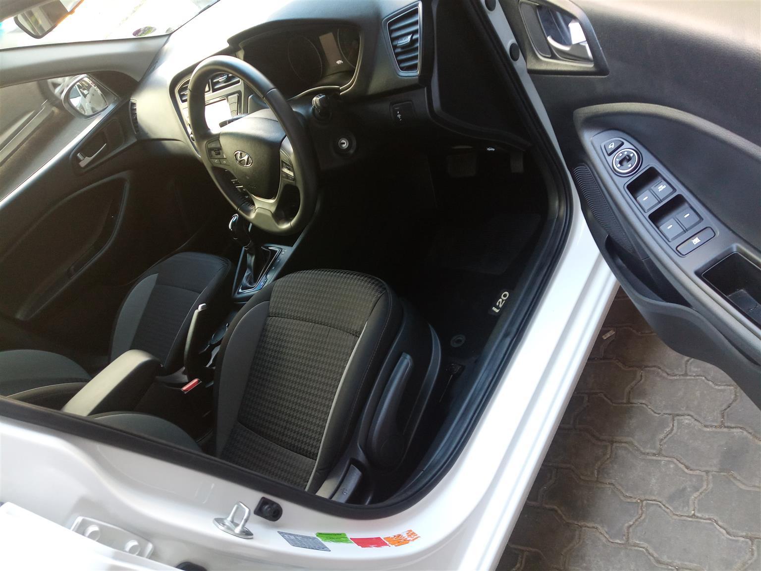 2018 Hyundai i20 1.4 Fluid auto