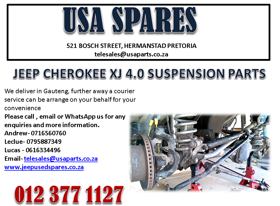 JEEP CHEROKEE XJ 4.0 SUSPENSION PARTS FOR SALE