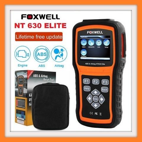 OBD2 Scanner Foxwell NT630 Elite OBD 2 ABS Airbag SRS SAS Crash Data Reset  ODB2 Auto Car Diagnostic Tool OBD Automotive Scanner  | Junk Mail