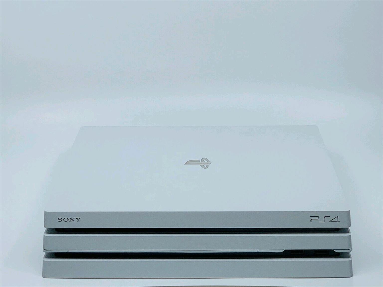 Sony PS4 pro Glacier white 1tb brand new