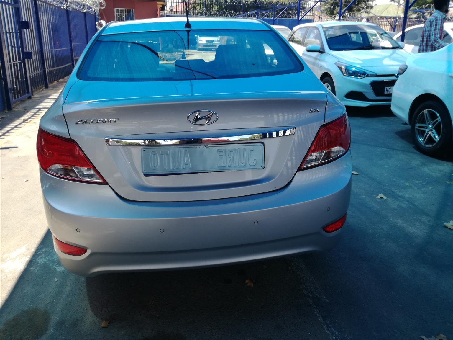 2016 Hyundai Accent 1.6 GLS auto