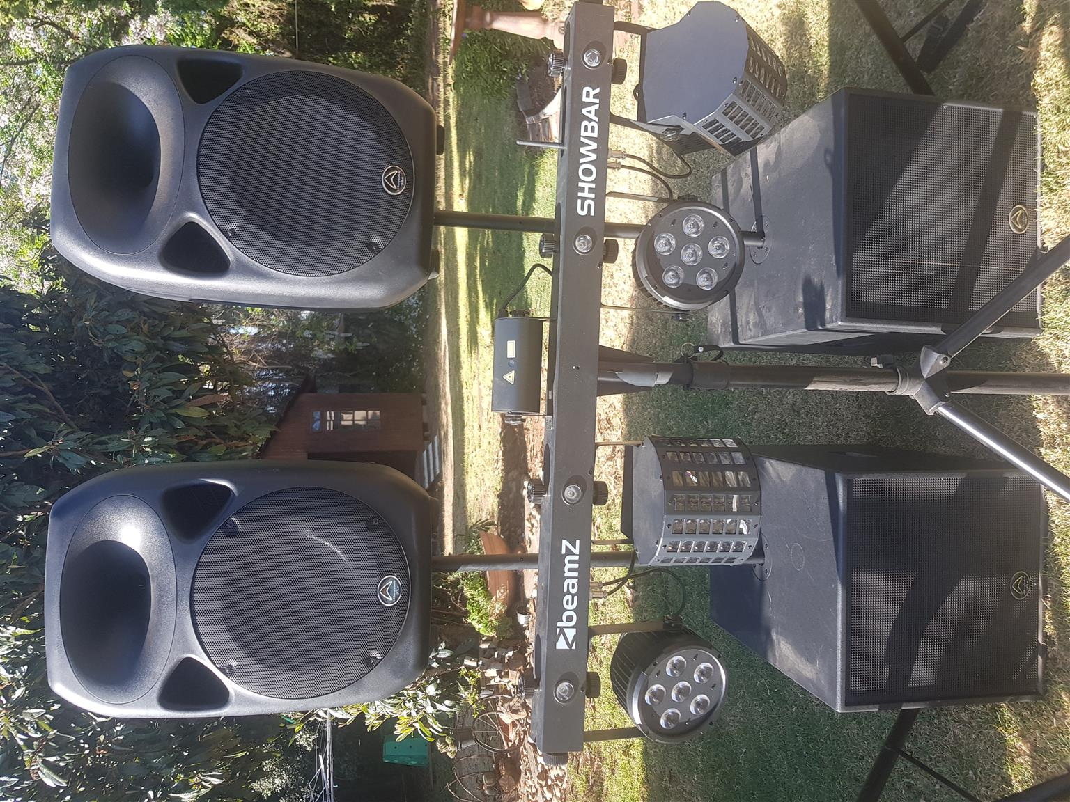 Wharfedale PA system Dj combo setup | Junk Mail