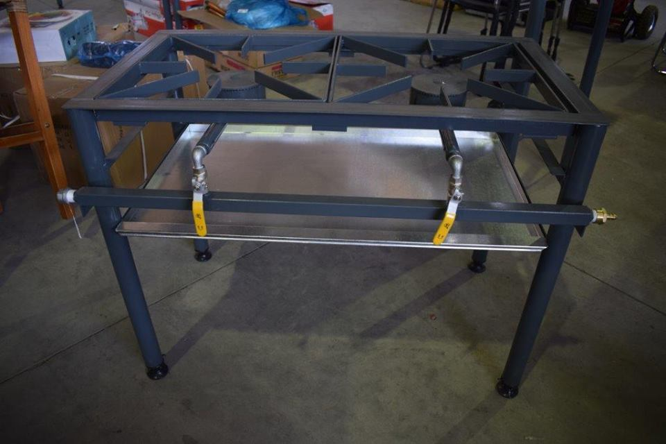 2 Plate gas burner for sale
