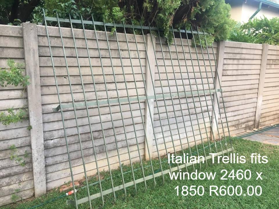 Italian trellis for sale