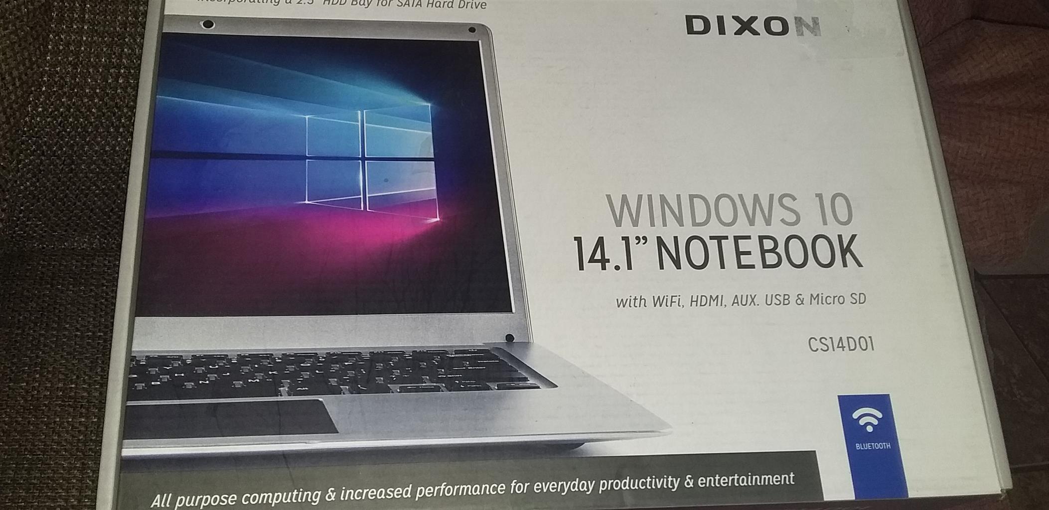 Dixon Notebook and Canon Printer combo