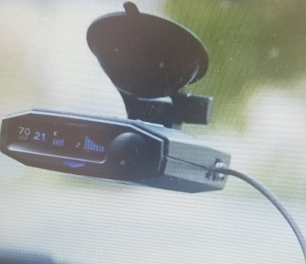 Radar Detector with built in GPS (USA brand - Escort) and magnetic suction device