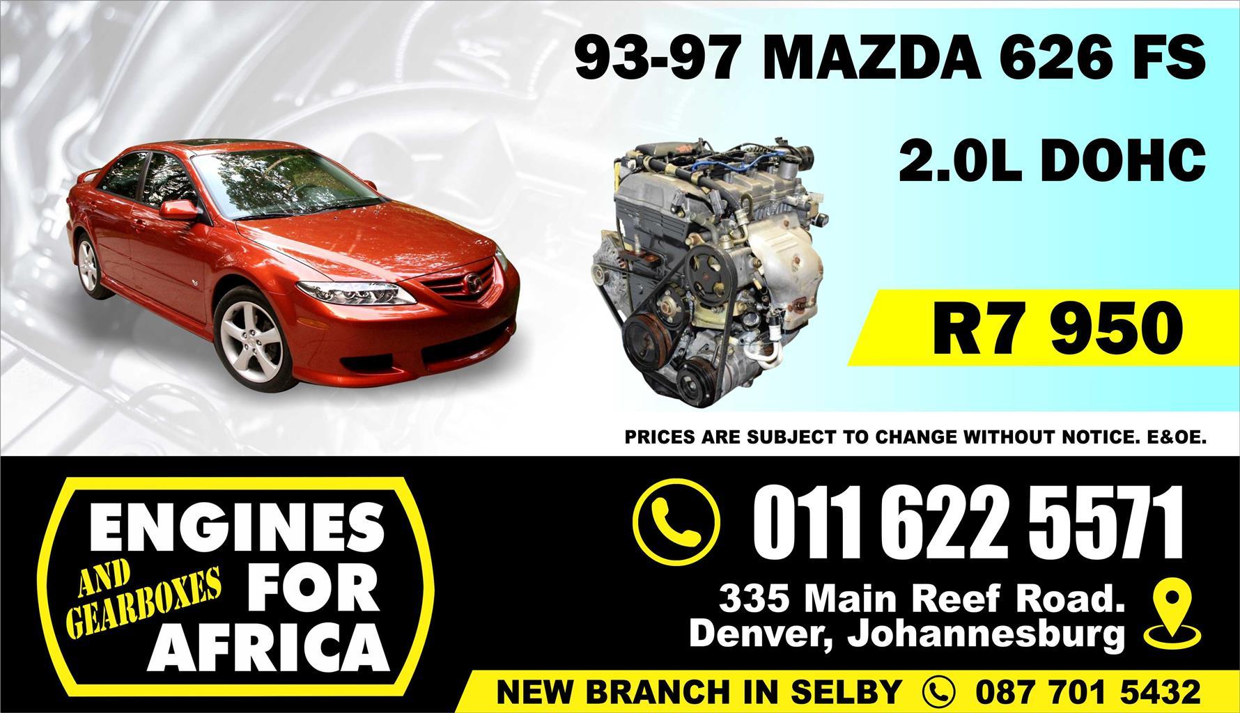 Used Mazda 626 FS 2 0L DOHC 93-97 Engine FOR SALE