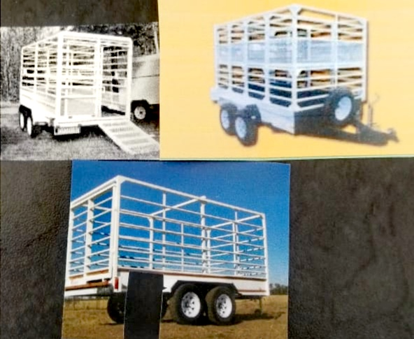 BRAND NEW  3 TON DOUBLE AXLE CATTLE TRAILERS