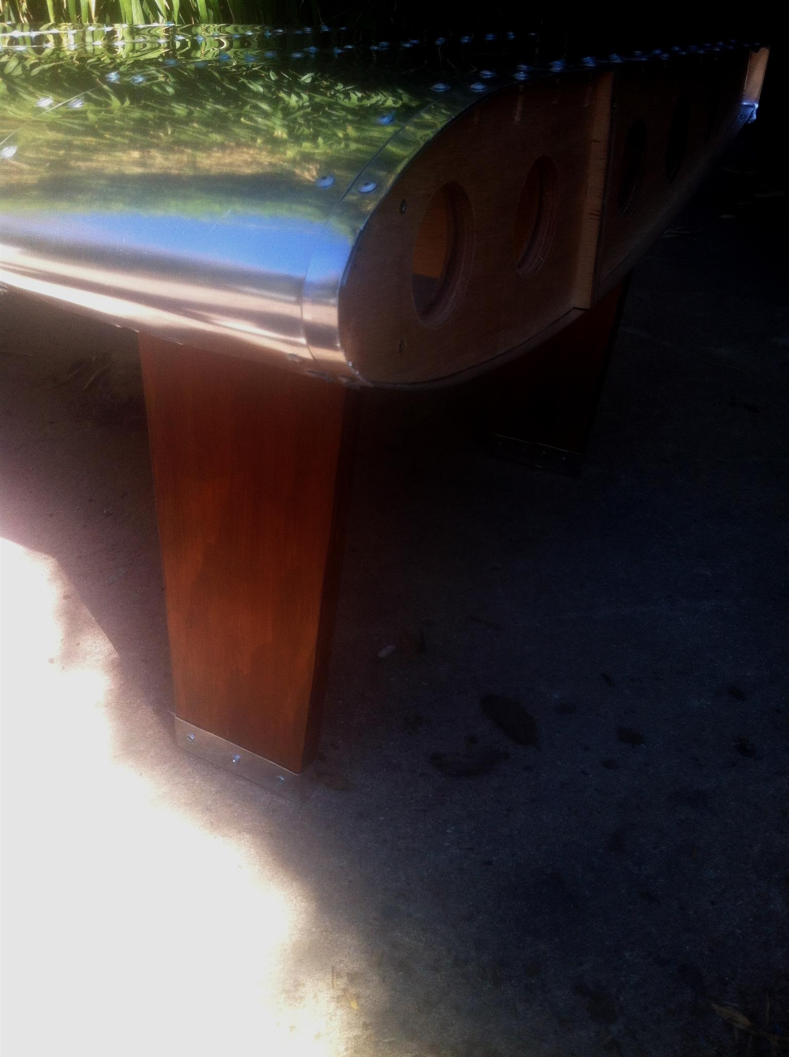 Air Plane Wing Coffee Table