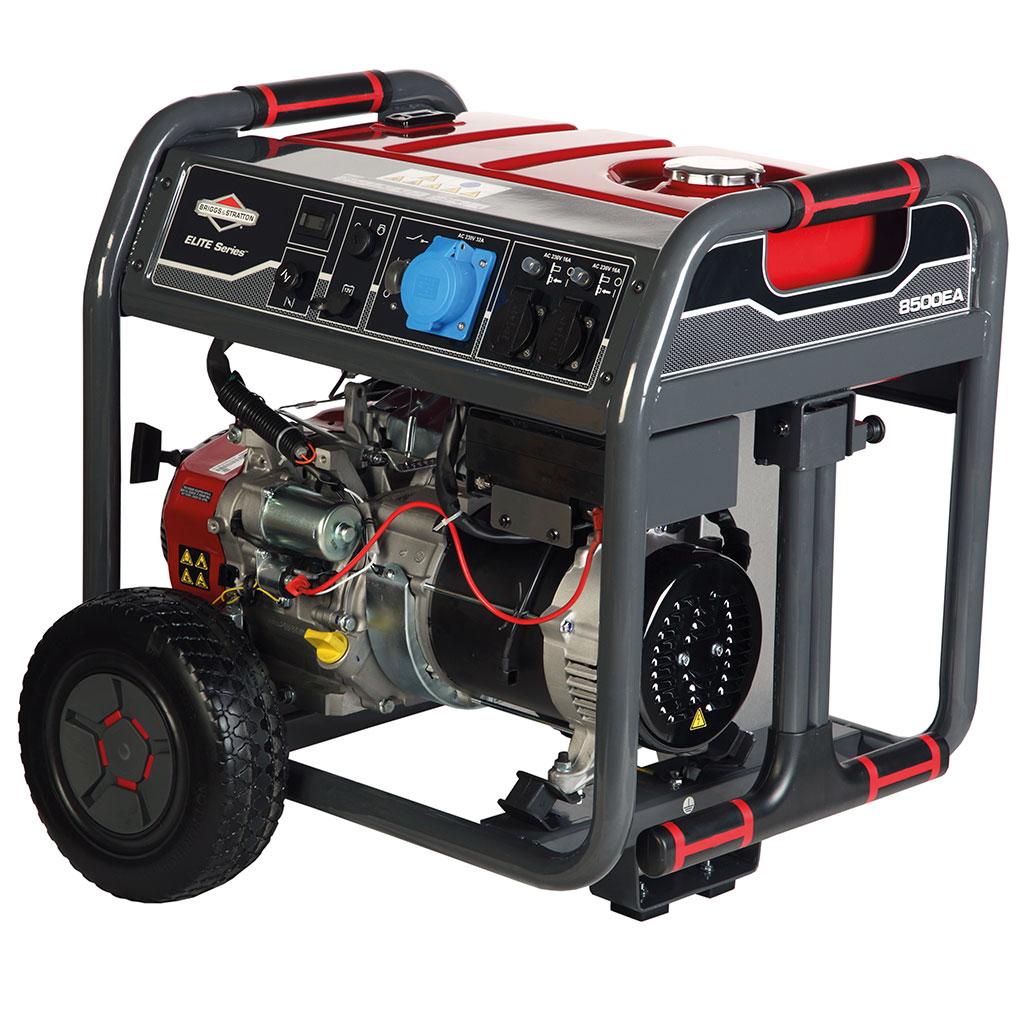 Generator - New Briggs and Stratton Elite 8500EA semi-Professional portable petrol generators