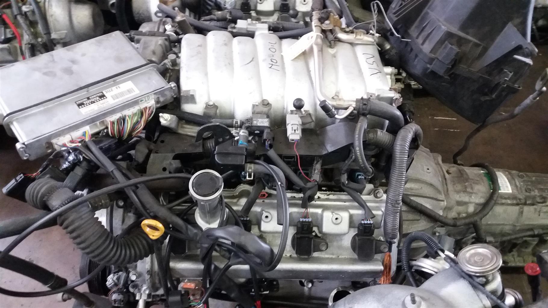 Lexus 4.3 V8 Prewired VVTi Engine & Auto Gearbox # 3UZ