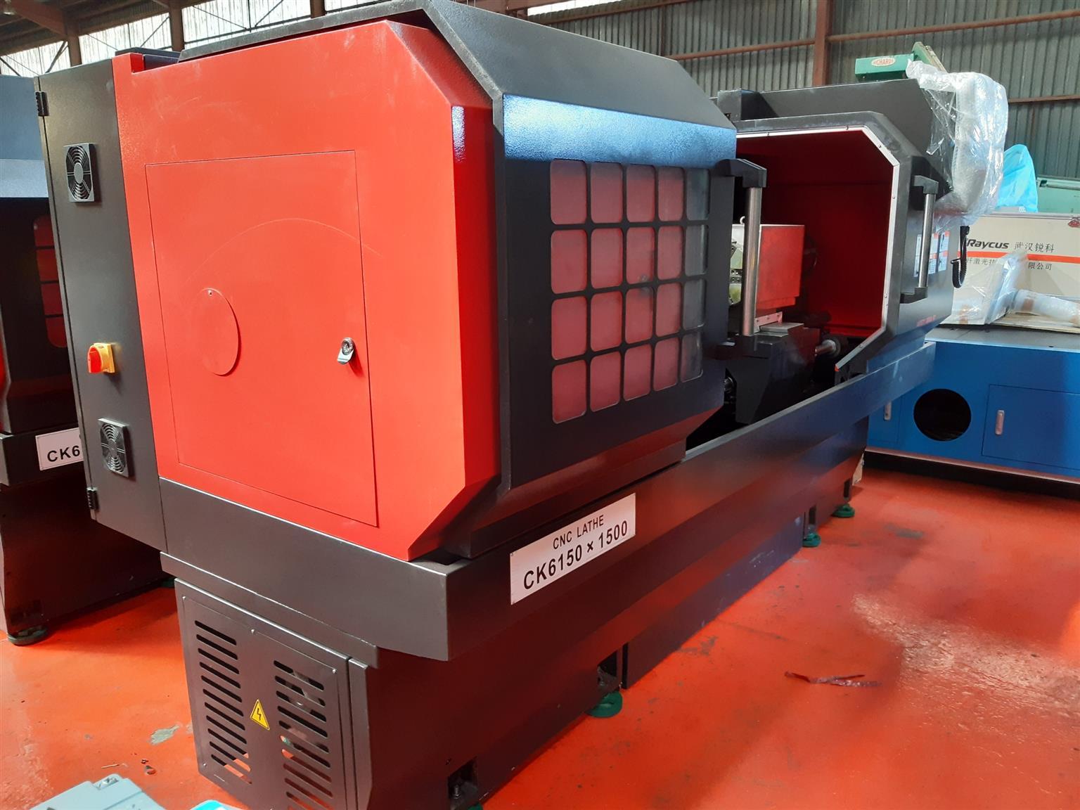 NEW CNC LATHE CK6150x1500