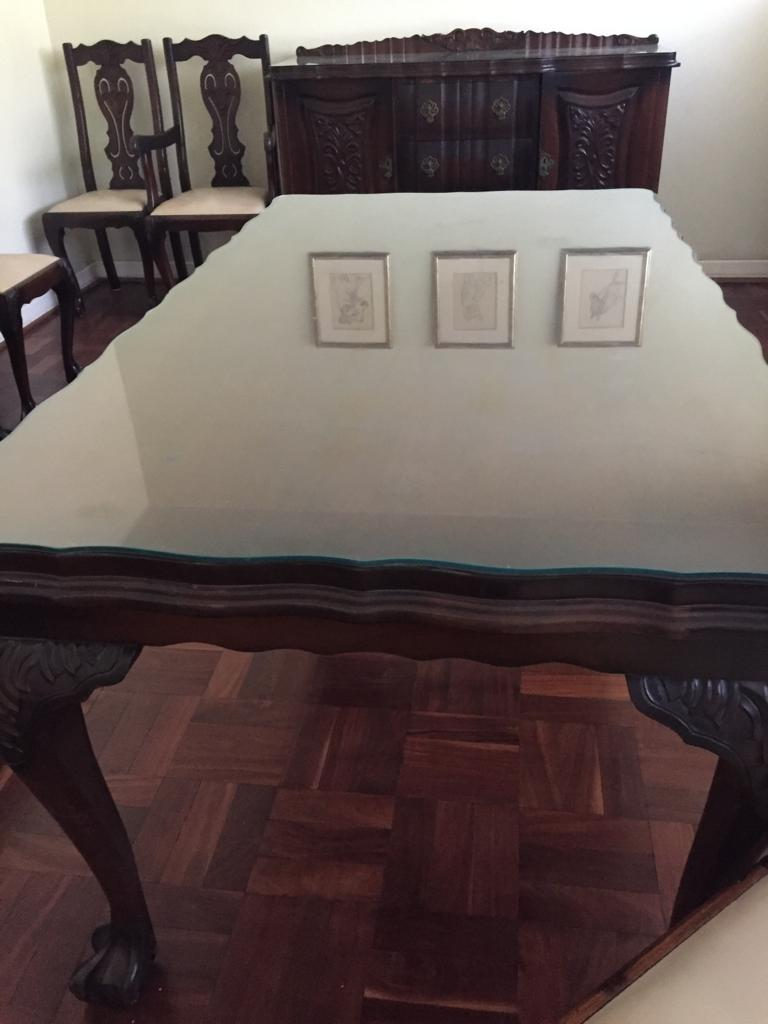 Imbuia Dining Room Suite Price Reduced Junk Mail