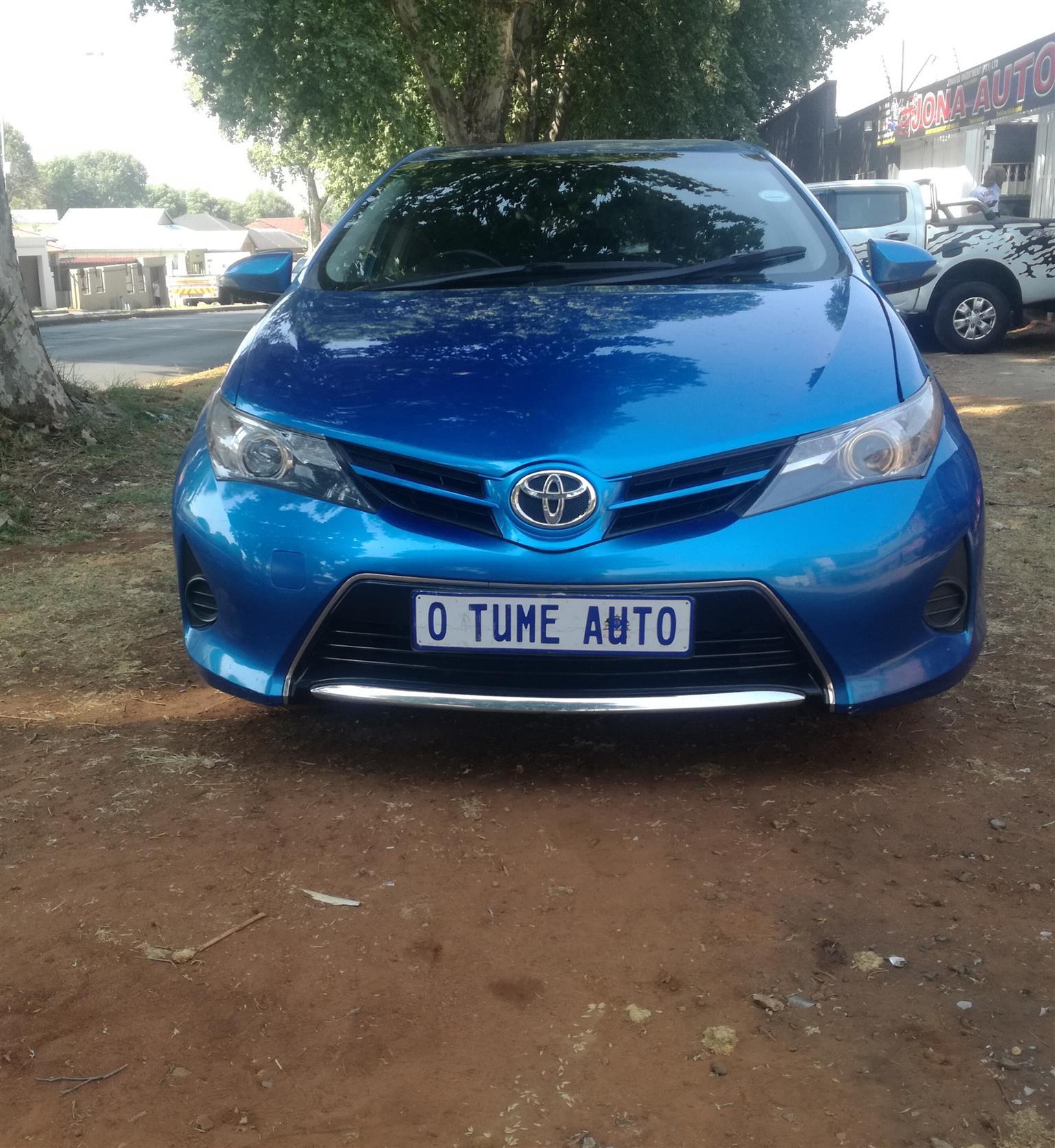 2015 Toyota Auris 1.6 RT