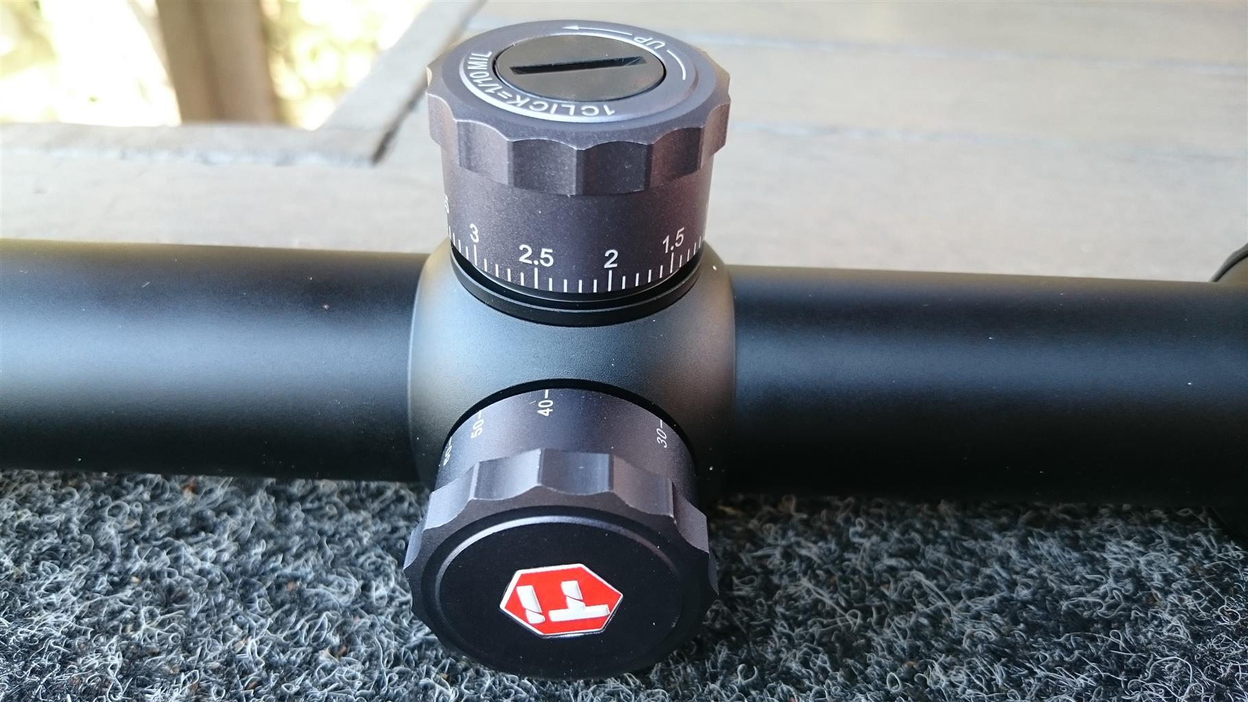 Titanium xenon AIR PCP rifle scope 4-16x44  FFP