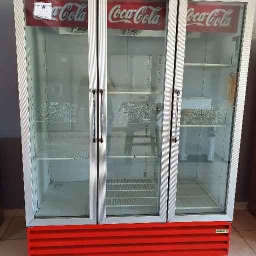 3 door display fridge
