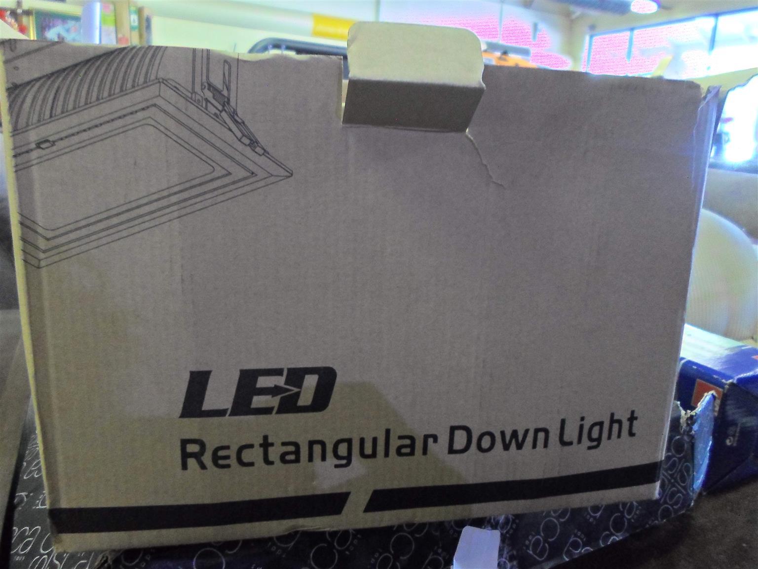 38W LED Rectangular Spotlight