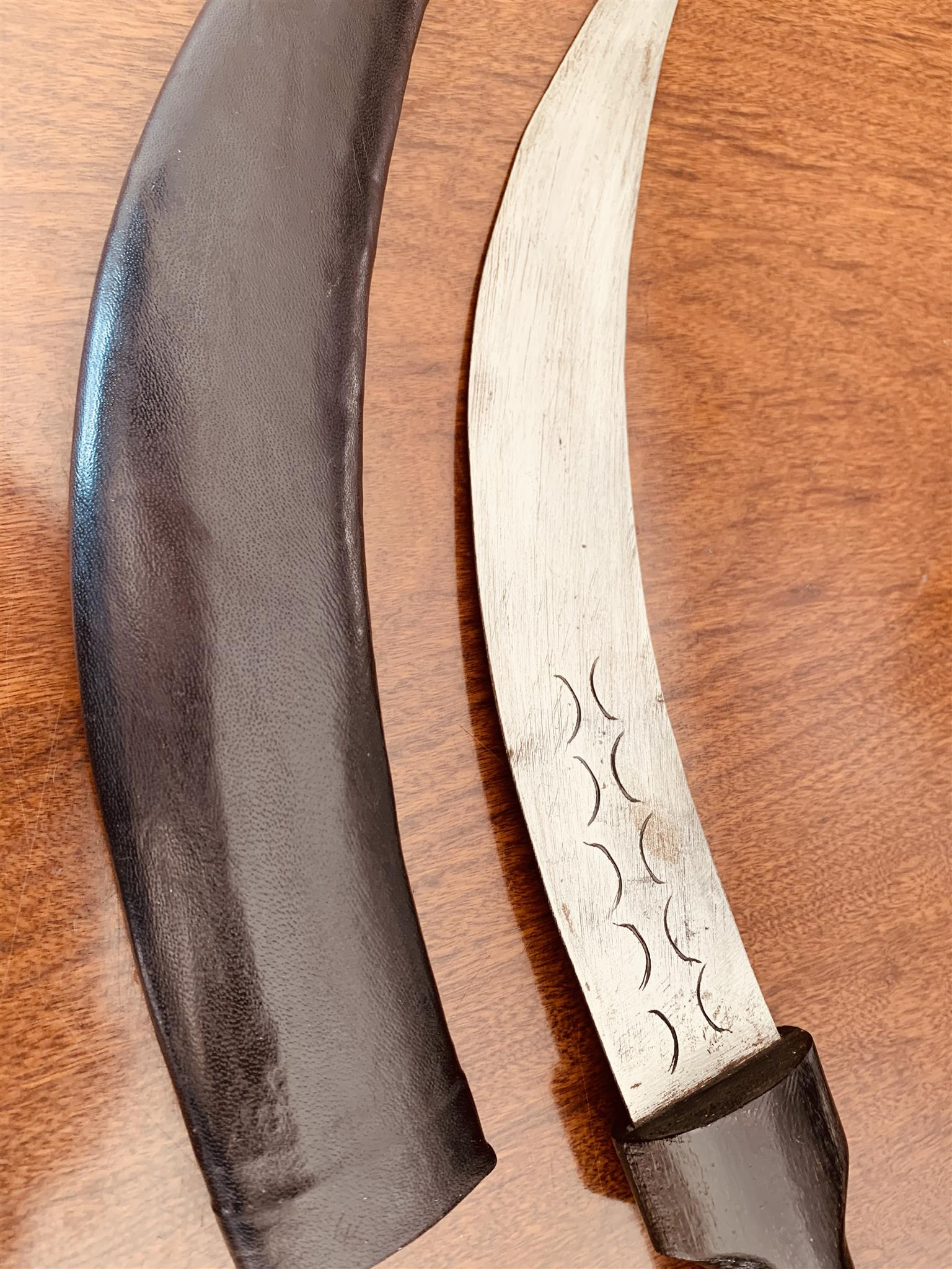 Knives swords African kukri