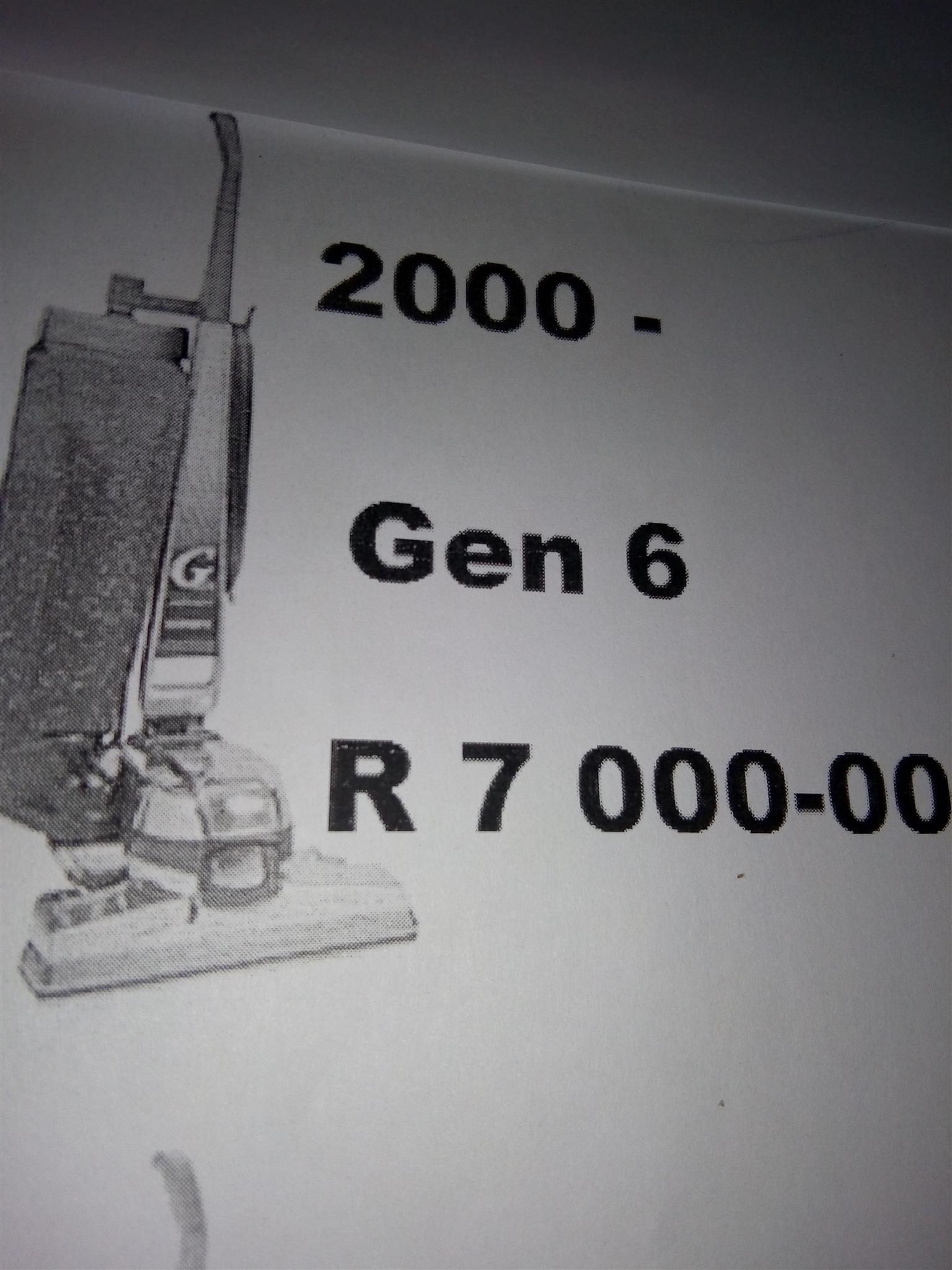 Refurbished Kirby Gen 6 2000 model