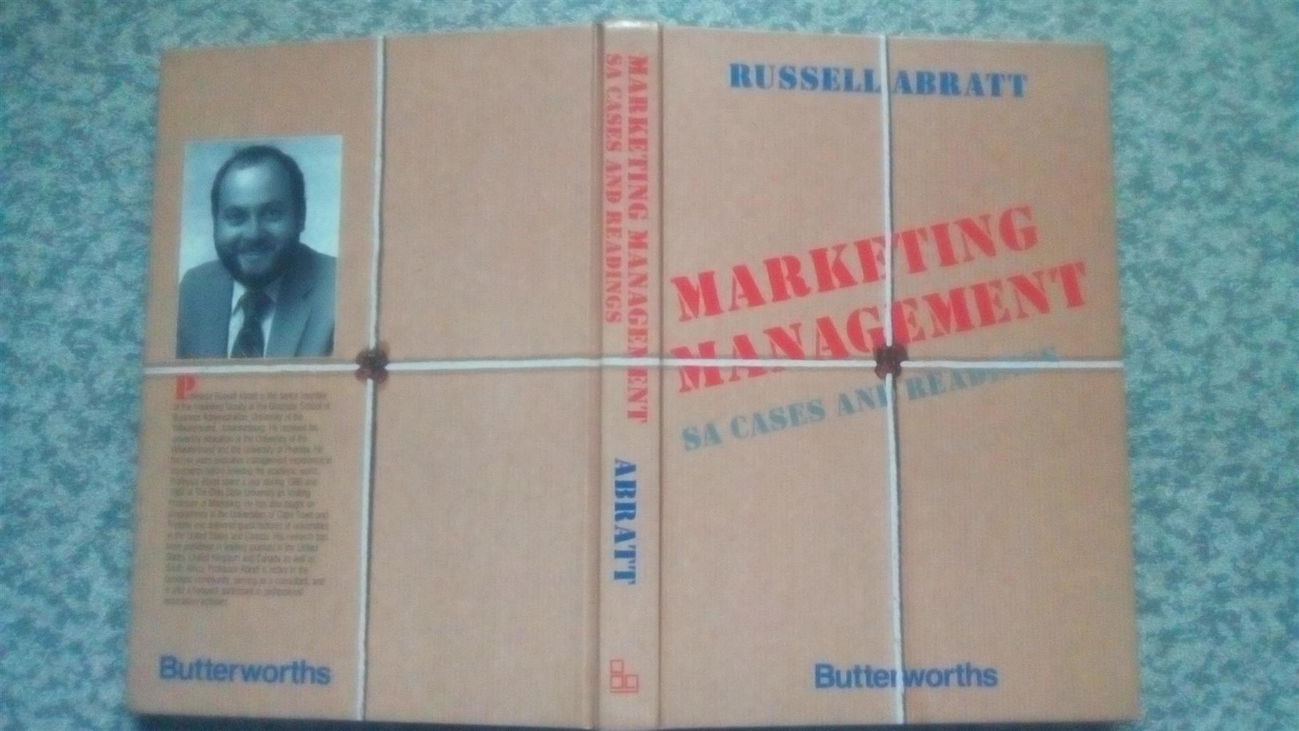 Marketing management by Russell Abratt