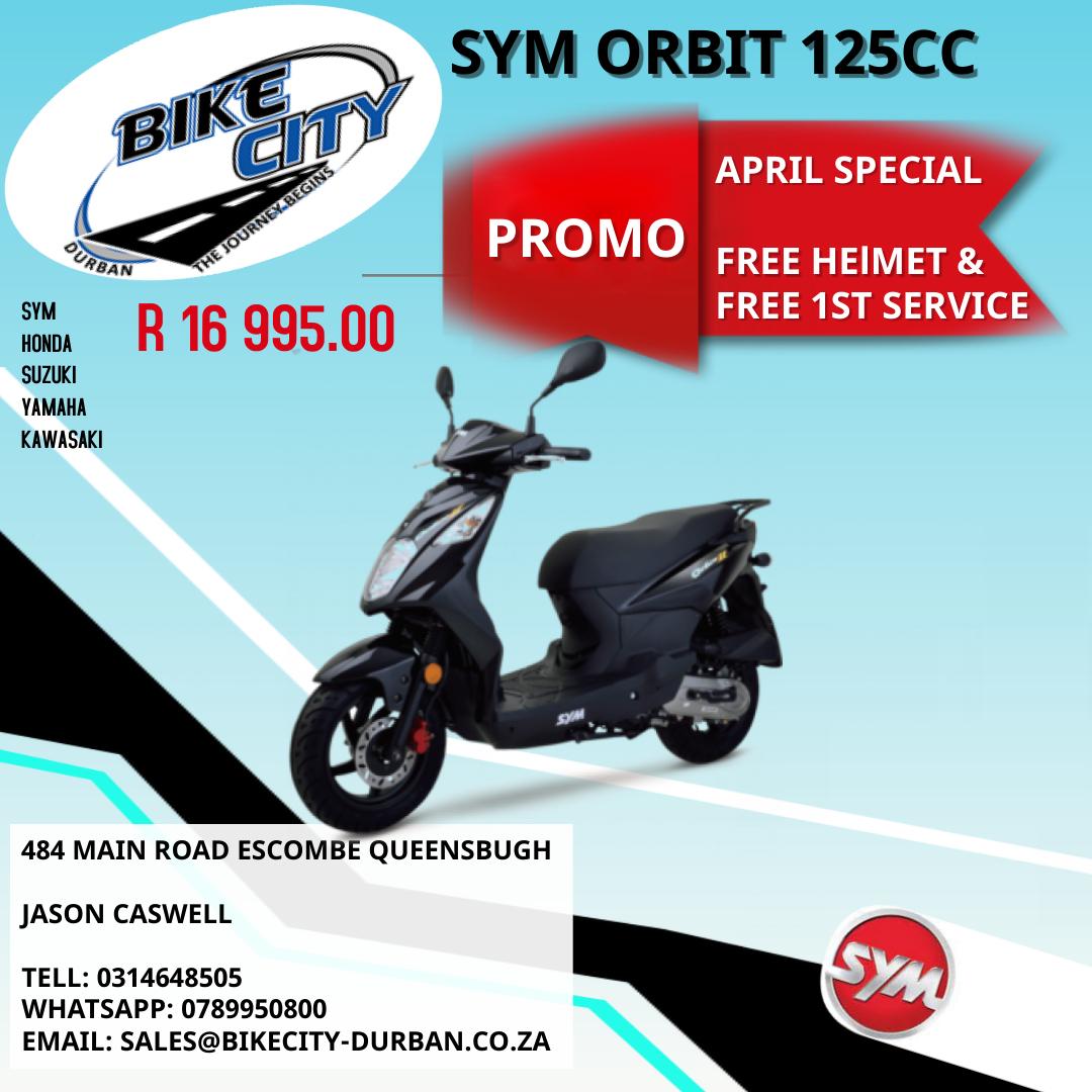 SYM ORBIT 125CC