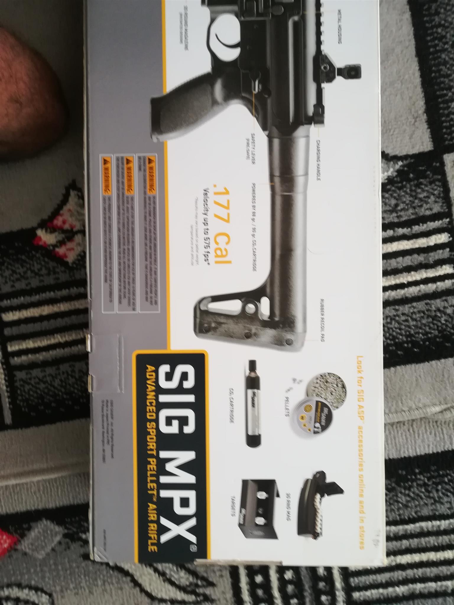 Sig Mpx  co2 air rifle