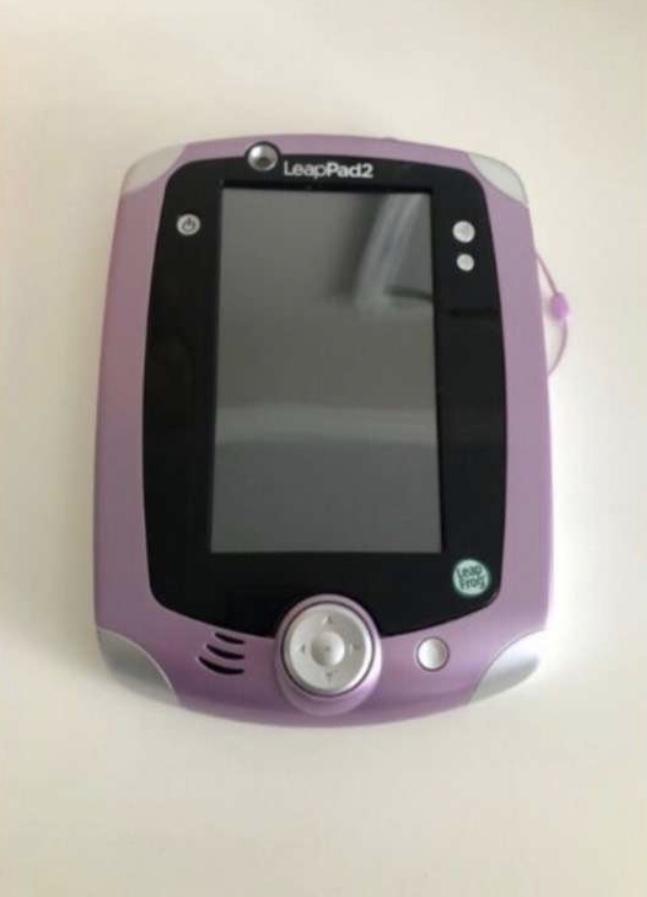 Purple & white LeapPad2 for sale