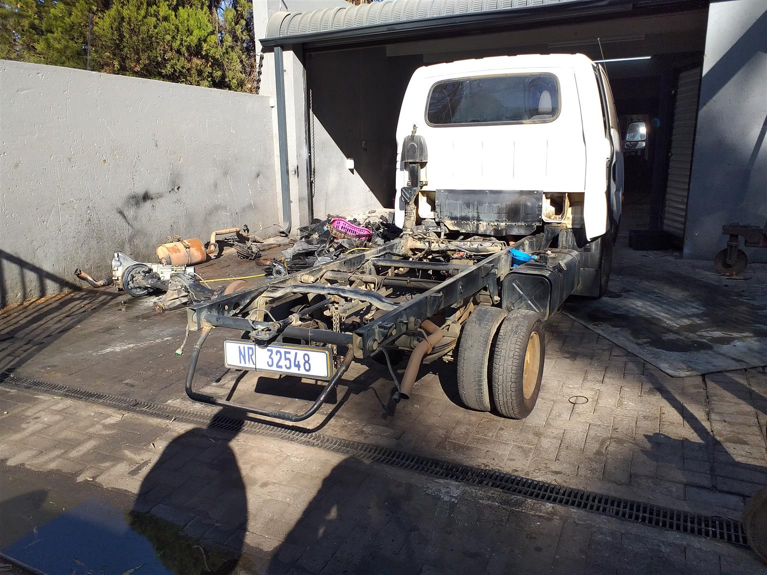Kia K2700 stripping for spares